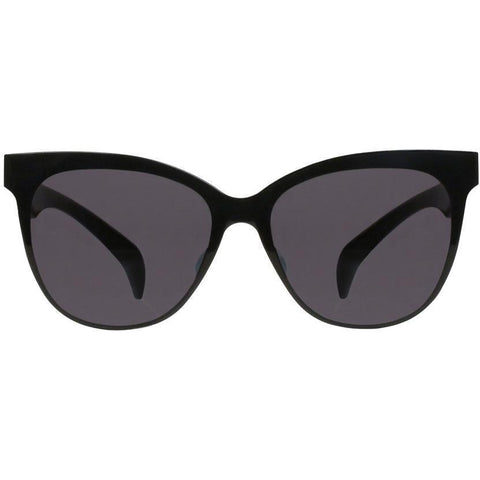 Black cat eye sunglasses view 1
