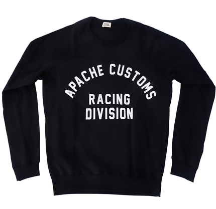 RACING DIVISION SWEATSHIRT - DARK BLUE