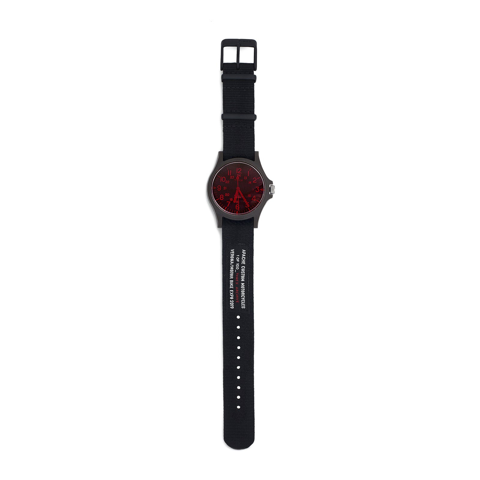 TIMEX LIMITED EDITION WATCH - RED