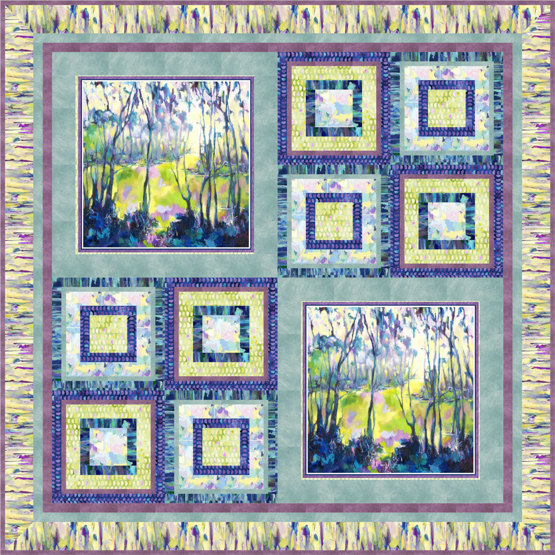 Naturesong Quilt #2<br>by Cindy Hershey<br>Available Now!