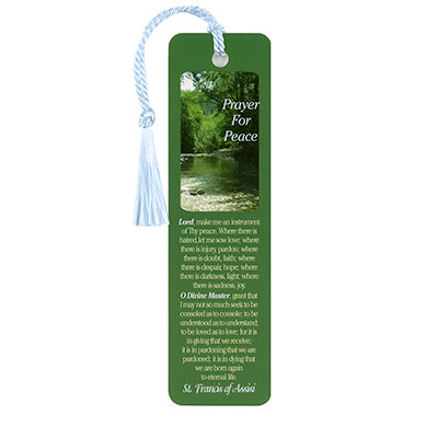 Prayer For Peace Bookmark