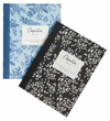 Rifle Blue/Black Floral Pocket Notebooks/Set 2