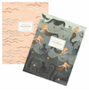 Rifle Paper Co Mermaid/Wave Notebooks/Set2