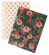 Rifle Floral with Gold Pocket Notebooks/Set 2