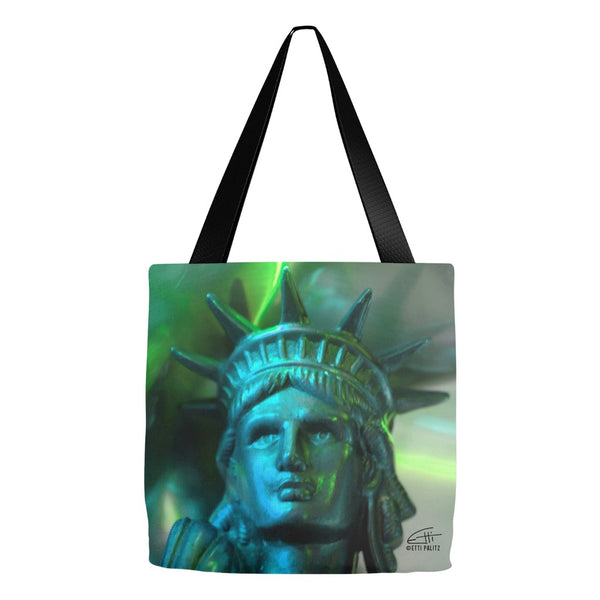 In Love with New York 'Liberty In Green' Tote Bag