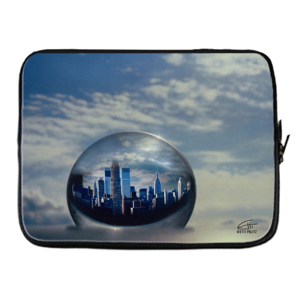 In Love with New York 'Planet NY' Laptop Cover