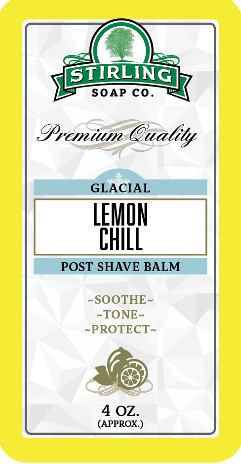 Glacial, Lemon Chill - Post-Shave Balm