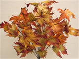 "Maple Leaf Bush Artificial Silk Greenery 20"" Plant 14-9260 - Phoenix Silk Flower Marketplace"