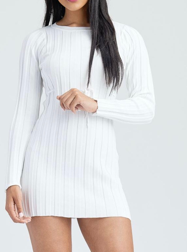 The I AM worthy sweater dress