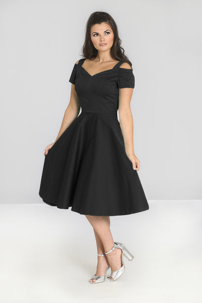 Hell Bunny little black Helen dress NZ