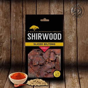 Shirwood Chilli Sliced Biltong 50g