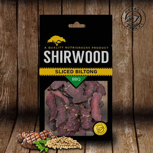 Shirwood BBQ Sliced Biltong 80g