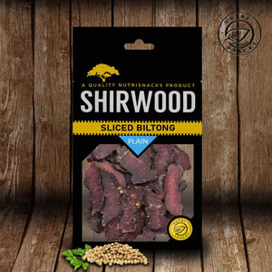 Shirwood Plain Sliced Biltong 80g