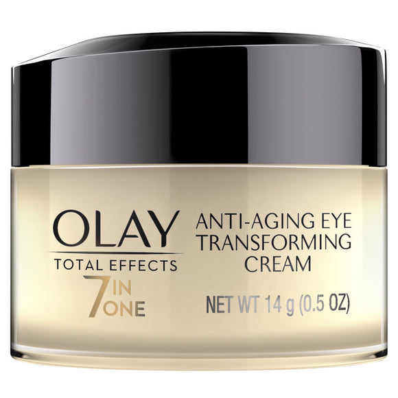 Olay Total Effects 7 In One Anti-Aging Transforming Eye Cream, 0.5 oz