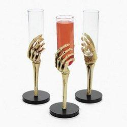 SKELETON HAND GLASSES (1 DOZEN) - BULK