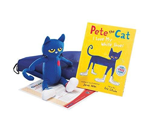 Childcraft Literacy Bag, Pete The Cat I Love My White Shoes - by Eric Litwin