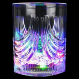 Fun Central R379 LED Light Up 8ounce Flashing Rocks Glass - Multicolor