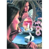 "Floxite 7"" Magnifying 8x Lamp Set Mirror"
