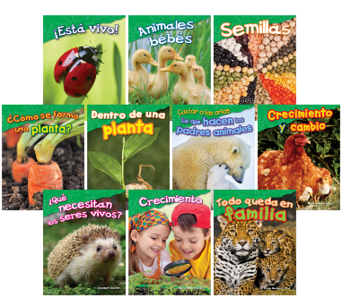 Teacher Created Materials Life Science, Grades K to 1, Spanish, Set of 10