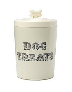 House of Paws Country Kitchen Treat Jar, Large, Cream