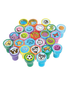 Assorted Stampers - 50 Pc kids stamp assortment