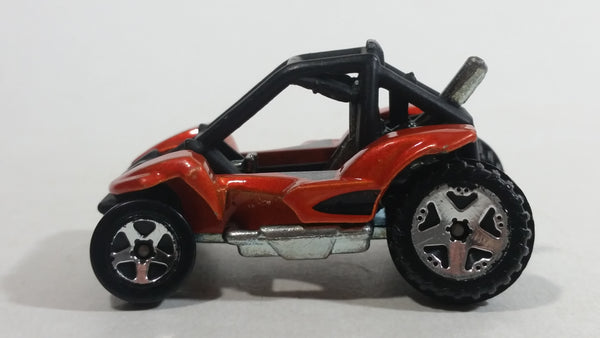 2004 Hot Wheels First Editions Realistics Power Sander Burnt Orange and Black Die Cast Toy Car Off-Roading Vehicle