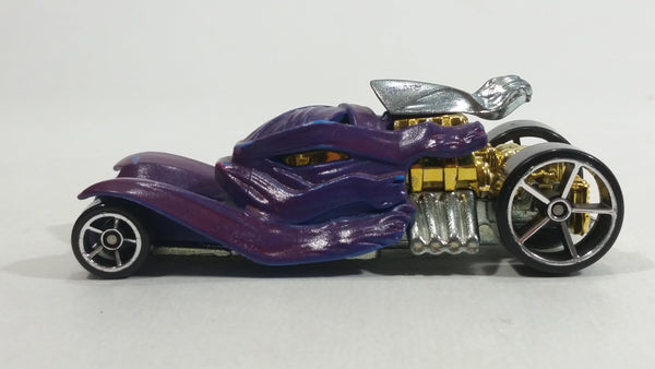 2010 Hot Wheels Color Shifters Creatures Tomb Up Purple Blue Die Cast Toy Car Vehicle R1192