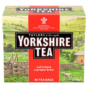 Yorkshire Red - 80 Teabags  $11.98