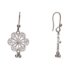 Silver Filigree Ear Ring ER22