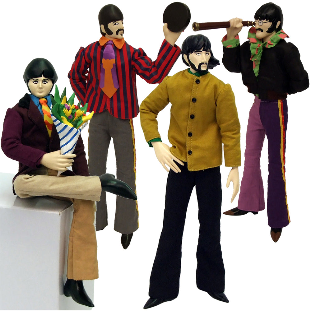 "The Beatles 2013 Factory Entertainment Yellow Submarine Band Member 12"" Figures"