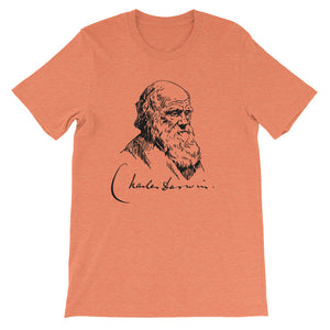 DARWIN SIGNATURE Atheist T-Shirt - Faithless Mortal Clothing
