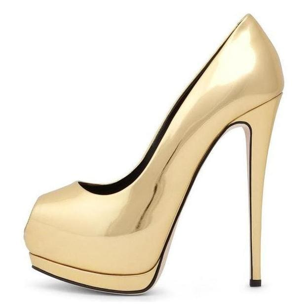 Drag Shoes India Golden / 4 Pumps