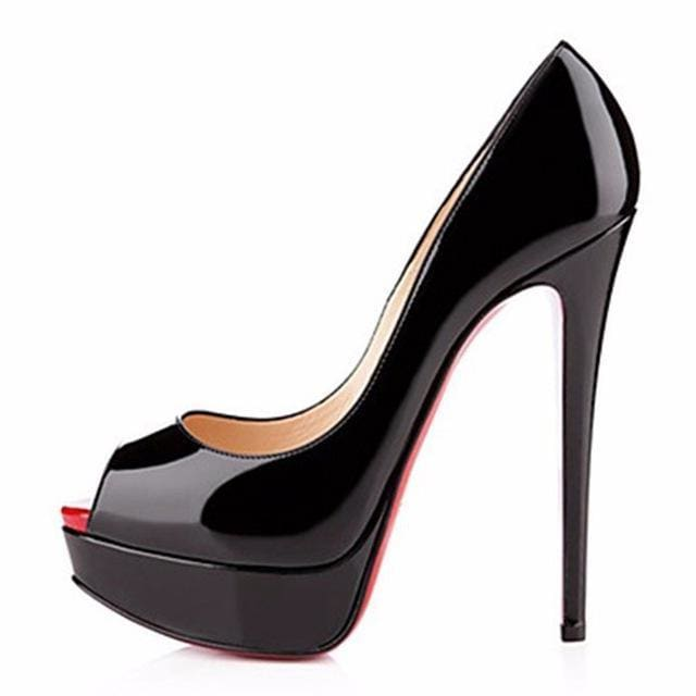 Drag Shoes Jaymes (6 Colors) Black / 4 Pumps