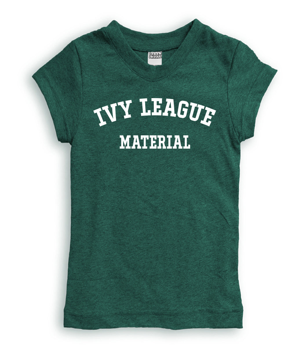 'Ivy League Material' Fitted Tee
