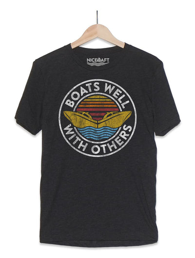 Boat Shirt | Boats Well With Others T-Shirt
