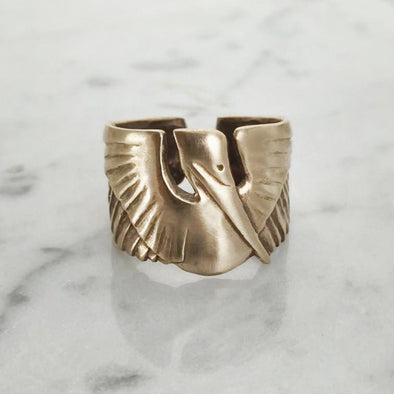 Mimosa Pelican Ring
