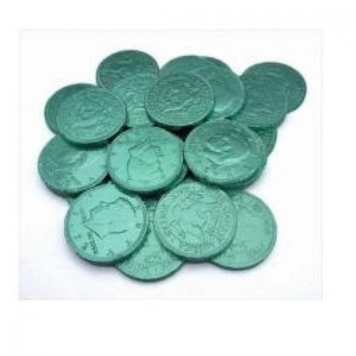 Green Chocolate Coins 'Pack Of 160'