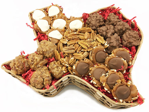 Texas Pecan Candy Basket
