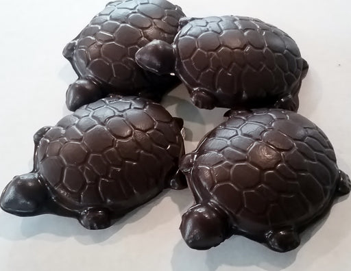 Cashew Caramel Turtles Dark or Milk Chocolate / ALL NATURAL / 6 count