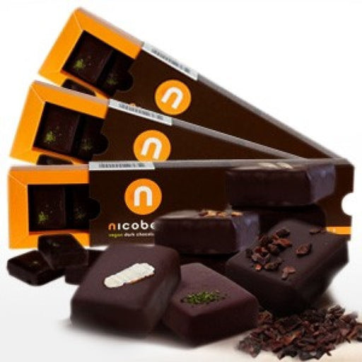 nicobella Vegan Organic Dark Chocolate Truffle (3-Pack)