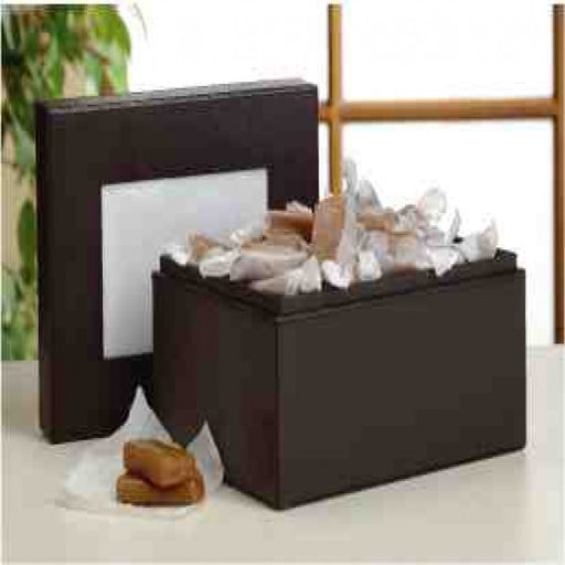 Leather Photo Gift Box With Caramels