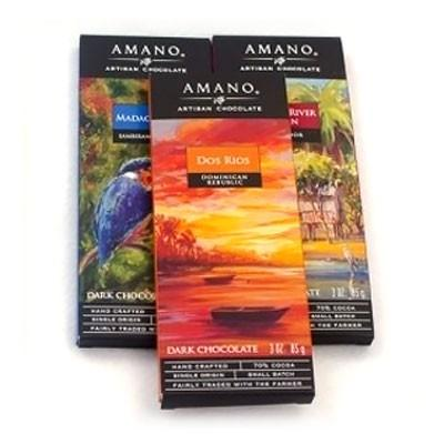 Amano Chocolate Single Origin 3 Pack