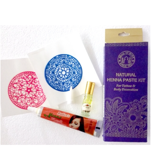 song of india natural henna paste kit 25g