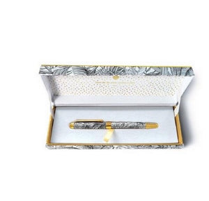Arty hearts jungle club gift boxed pen