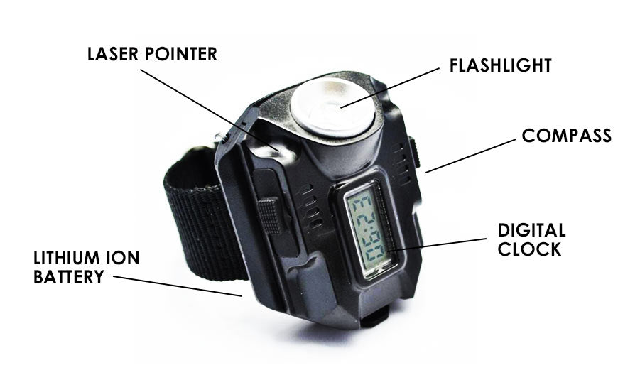 4-in-1 Military Tactical Watch