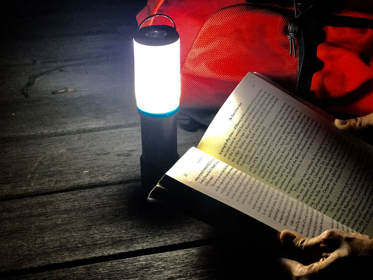Motorola Outdoor LUMO MSLB160TB Hybrid Lantern + Flashlight (with Bluetooth Speaker/Mosquito Repellent/Power Bank Module)