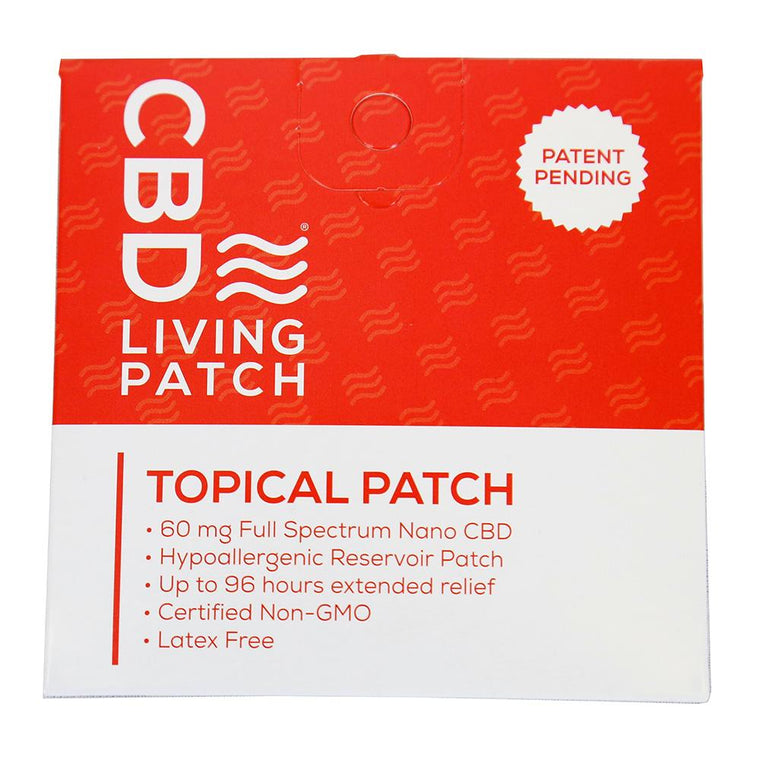 CBD Living Topical Patch - 60 MG