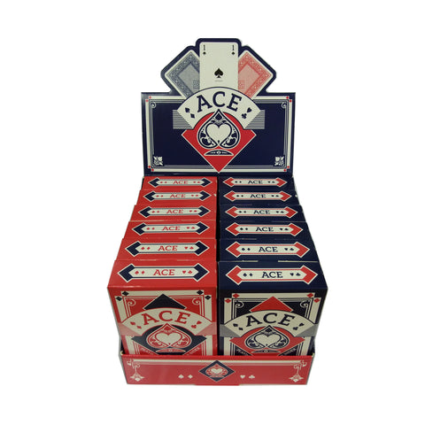 Carta Mundi Ace: playing cards (boxed) - one dozen