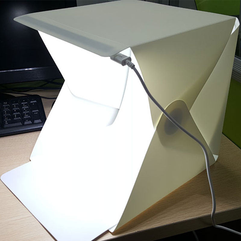 Mini Studio Photo transportable à LED pliable. - PetitGadget.com