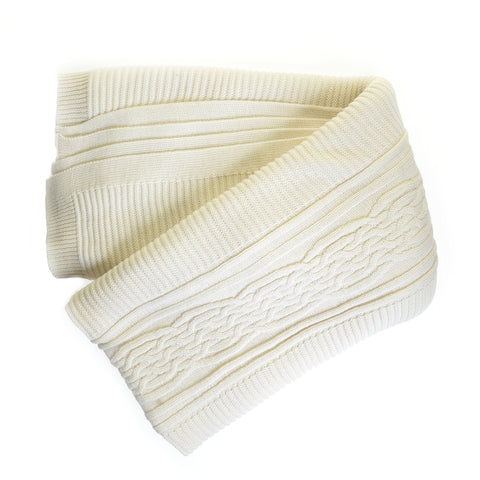 Ivory Holland throw